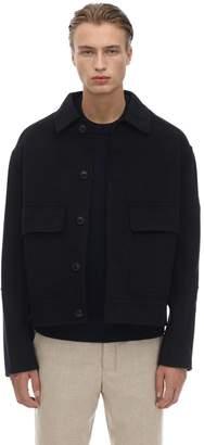 Ami Alexandre Mattiussi Wool & Cashmere Casual Jacket
