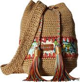 Sakroots Artist Circle Crochet Drawstring