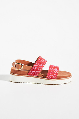 Anthropologie Emily Slingback Sandals By in Pink Size 6