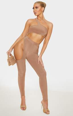 ASA Trad Camel Slinky Cut Out Side Legging