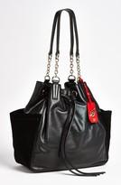 Diane von Furstenberg 'Sydney' Leather Tote Black