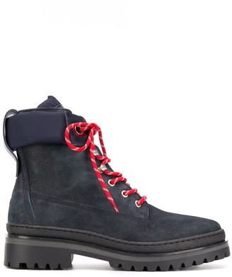 Tommy Hilfiger Lace-Up Winter Boots