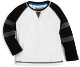 Sovereign Code Infant Boys' Stripe Sleeve Raglan Tee - Sizes 12-24 Months