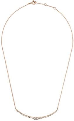 As 29 AS29 18kt rose gold Mye diamond necklace