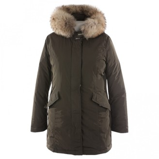Woolrich Green Coat for Women