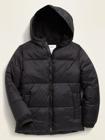 Old Navy Frost-Free Hooded Puffer Jacket for Boys