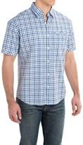 James Campbell Dodo Plaid Shirt - Cotton, Short Sleeve (For Men)