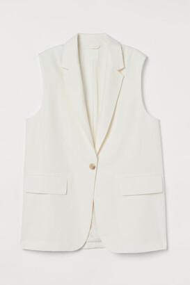 H&M Sleeveless jacket