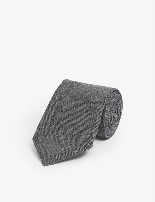 Tom Ford Wool and silk-blend tie