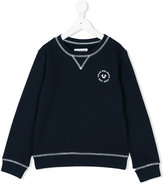 True Religion chest print sweatshirt - kids - Cotton - 2 yrs