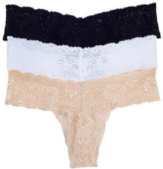 Cosabella Never Say Never Cutie Low Rise Thong 3-Pack
