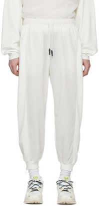 A. A. Spectrum White Out Track Pants