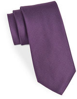 Black Brown 1826 Classic Textured Tie