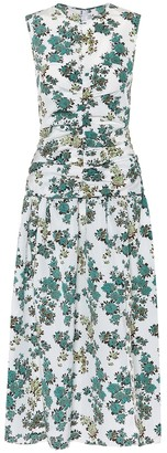 Victoria Victoria Beckham Floral midi dress