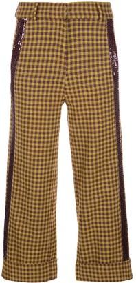 Silvia Tcherassi Dacil cropped trousers