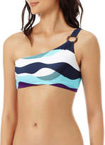Vilebrequin Ostende Printed One-Shoulder Bikini Top