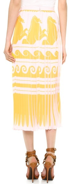 Vionnet Pleated Skirt