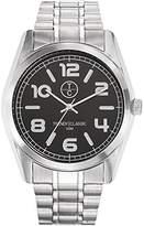 TRENDY CLASSIC Trendy 1017-02 cm Classic Men's Watch Analogue Quartz White Dial Bracelet Metal-Grey
