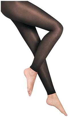 Wolford Satin Touch 20 Leggings (Black) Women's Underwear