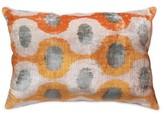 Ikat Lumbar Pillow Cover Pasargad Color: Gold, Fill Material: Polyester/Polyfill