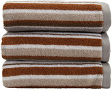 Christy Portobello Stripe Towel - Pebble - Bath Sheet