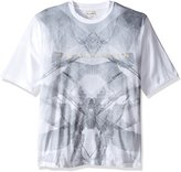 Sean John Men's Big and Tall Short Sleeve Shadow Crand Tee