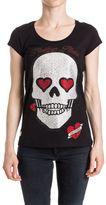 Philipp Plein Round Neck Ss Balinay Devon Cotton T-shirt