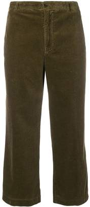 Aspesi cropped corduroy trousers