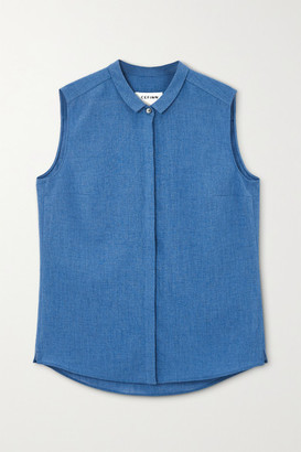 Cefinn Hailey Voile Shirt - Blue