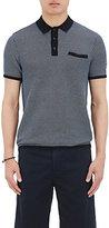 Rag & Bone Men's Finn Cotton-Blend Polo Shirt