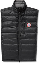 Canada Goose Lodge Packable Quilted Ripstop Down Gilet
