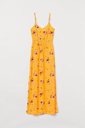 H&M Creped Maxi Dress