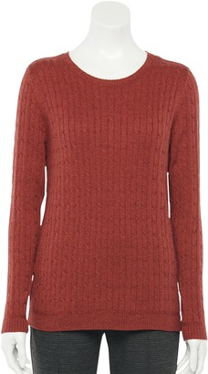 Croft & Barrow Women's The Classic Crewneck Sweater