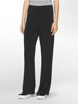 Calvin Klein Jersey Stretch Wide Leg Pants