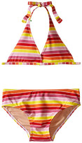 Toobydoo Multi Stripe String Bikini (Infant/Toddler/Little Kids/Big Kids)