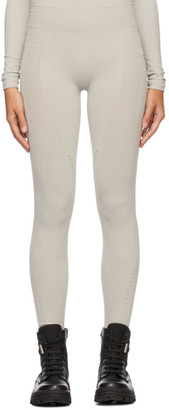 MONCLER GENIUS 6 Moncler 1017 Alyx 9SM Grey ECONYL Ribbed Leggings