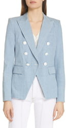 Veronica Beard Miller Denim Dickey Jacket