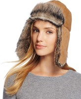 UGG Shearling Sheepskin Trapper Hat