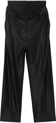 Burberry Double-waist Jersey Trousers
