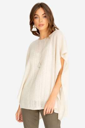 Johnny Was Thea Cable Knit Poncho