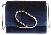 3.1 Phillip Lim Alix Velvet Clutch - Blue