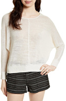 Joie Clady Linen Pullover Top