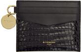 Givenchy Black GV3 Card Holder
