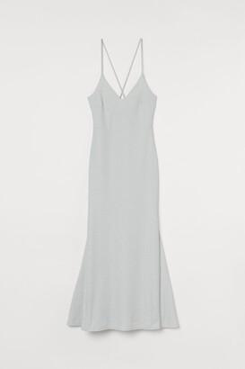 H&M Glittery long dress