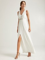 Halston Embellished Jersey Gown
