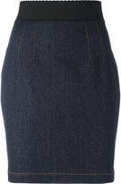 Dolce & Gabbana short skirt - women - Cotton/Polyester/Spandex/Elastane - 38