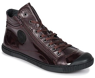 Pataugas Bono V women's Shoes (High-top Trainers) in Purple