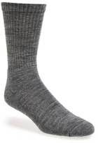 Smartwool Men's New Heathered Ribbed Crew Socks
