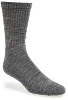 Smartwool Men's New Heathered Ribbed Crew Socks
