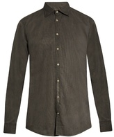 Massimo Alba Dyed Cotton Shirt
